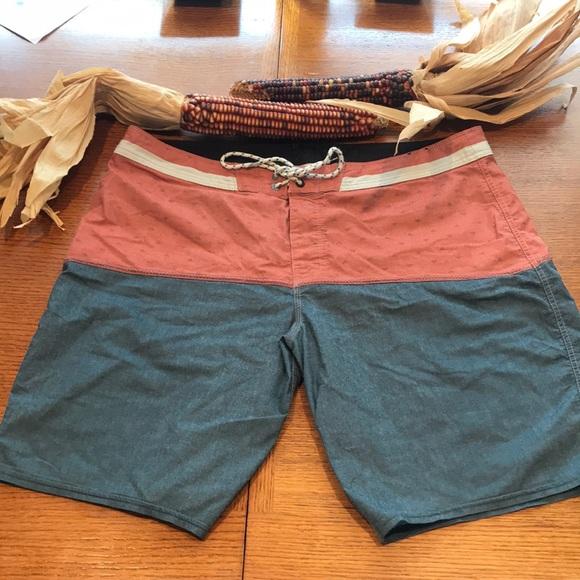 Billabong Other - Salmon and Blue Swim trunks by Billabong